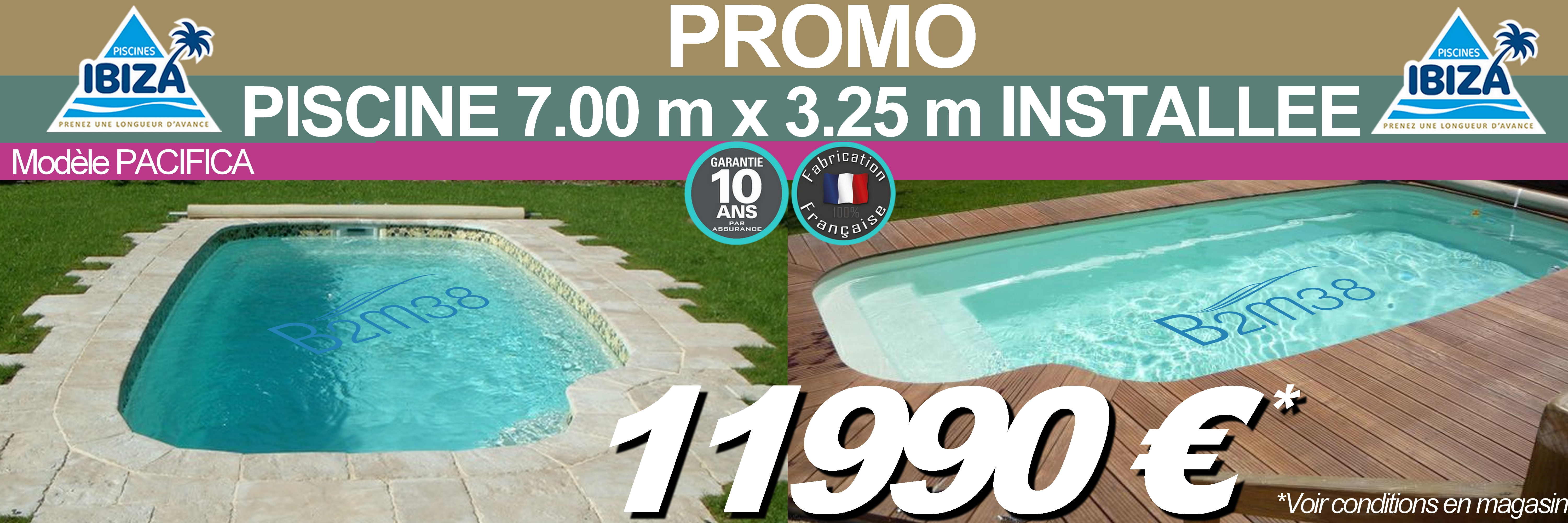 B2m38 piscine abri et spas for Abri piscine promotion